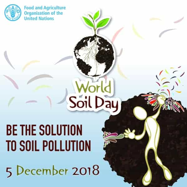 World Soil Day is December 5